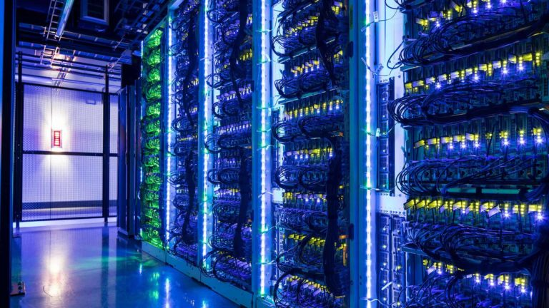 Data Center Cage, Switch LAS VEGAS 8 Data Center — The Core Campus, Las Vegas, Nevada, USA