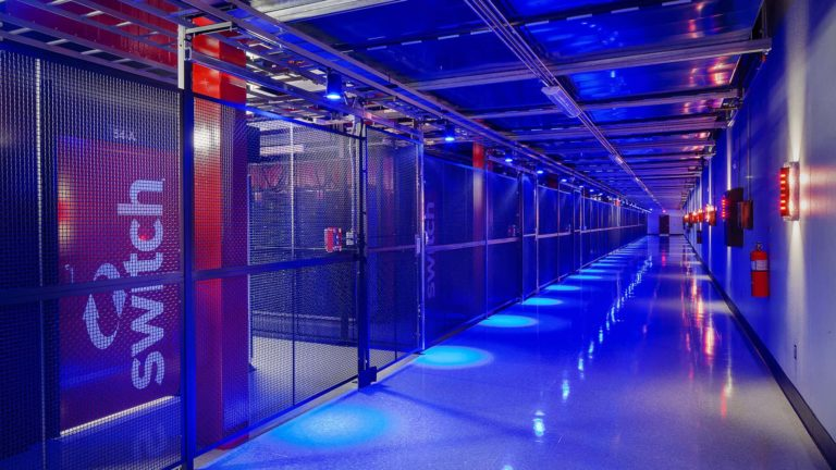 Data Center Sector, Switch LAS VEGAS 8 Data Center — The Core Campus, Las Vegas, Nevada - Data Center Sector