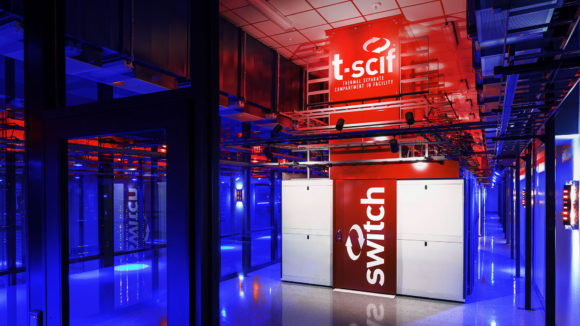 Switch CLOUD, Multi-Cabinet Heat Containment Rows / T-SCIF, Switch LAS VEGAS 7 Data Center — The Core Campus, Las Vegas, Nevada, USA