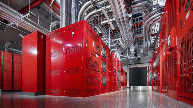 Tri-Redundant Power, Red Power Room, Switch LAS VEGAS 8 Data Center – The Core Campus, Las Vegas, Nevada, USA