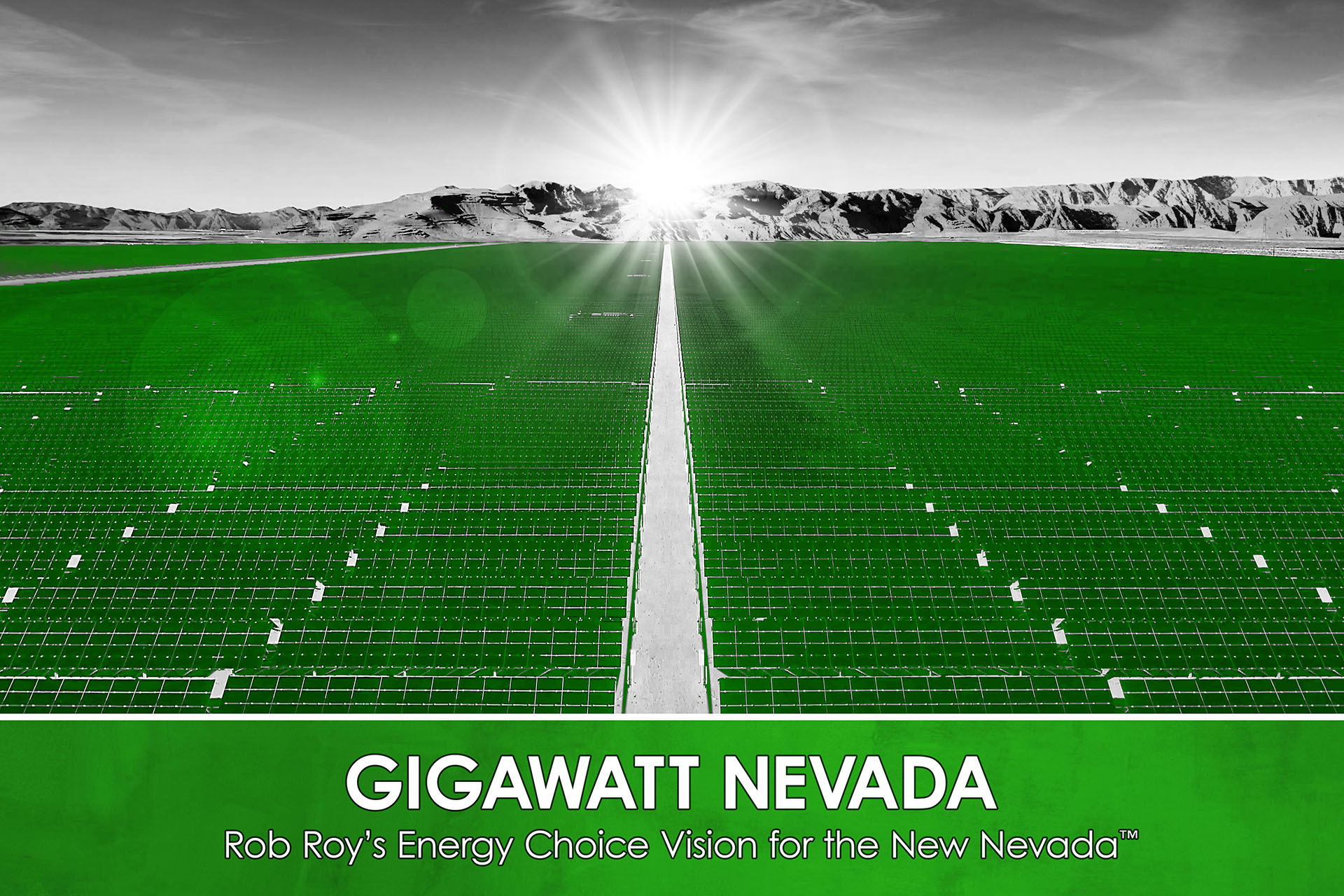 Switch Announces Rob Roys Gigawatt Nevada The Largest Solar Project In United States