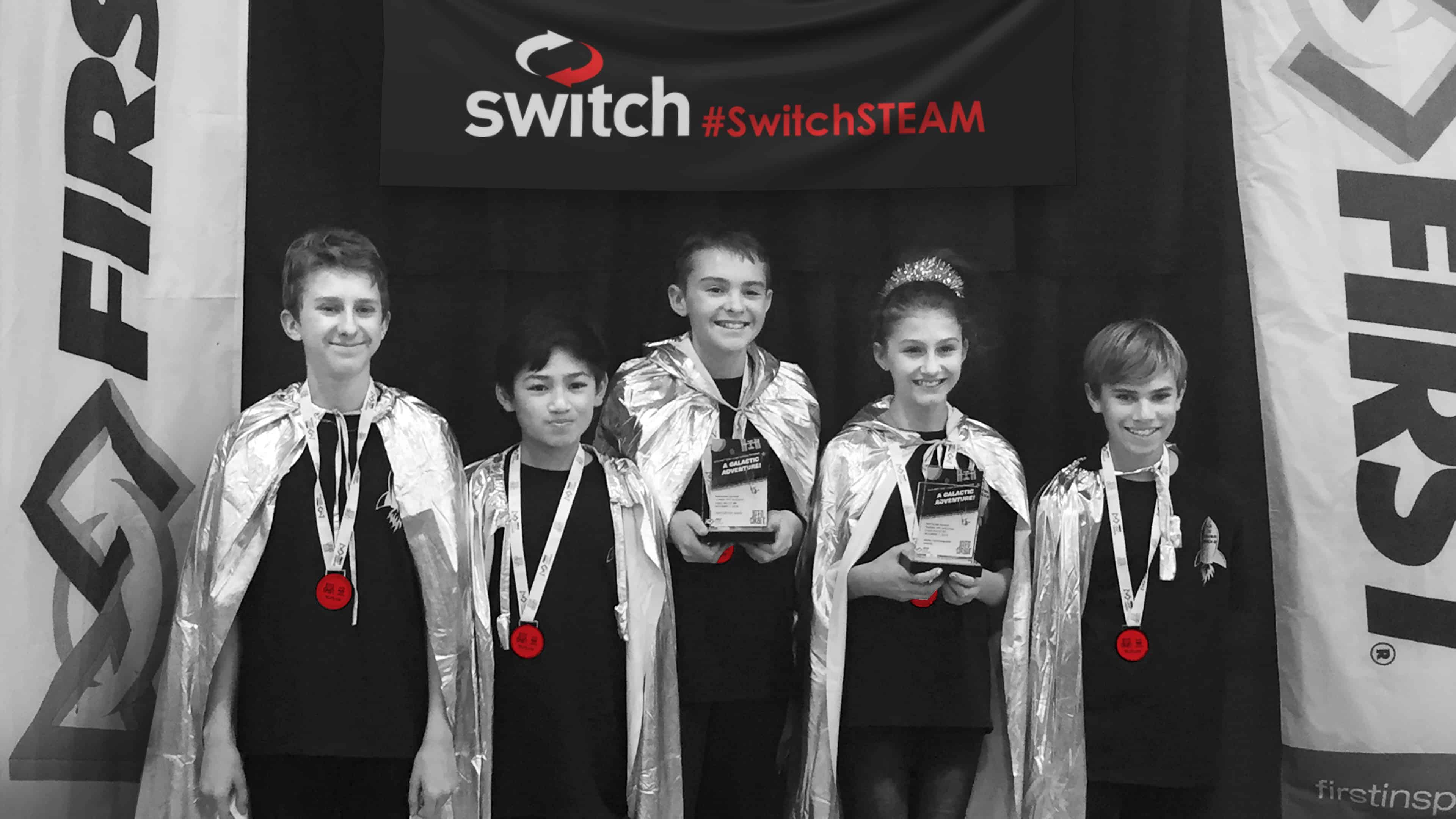 Switch Sponsorship Sends Virginia City Silver Bricks FIRST LEGO League Team to National Championship