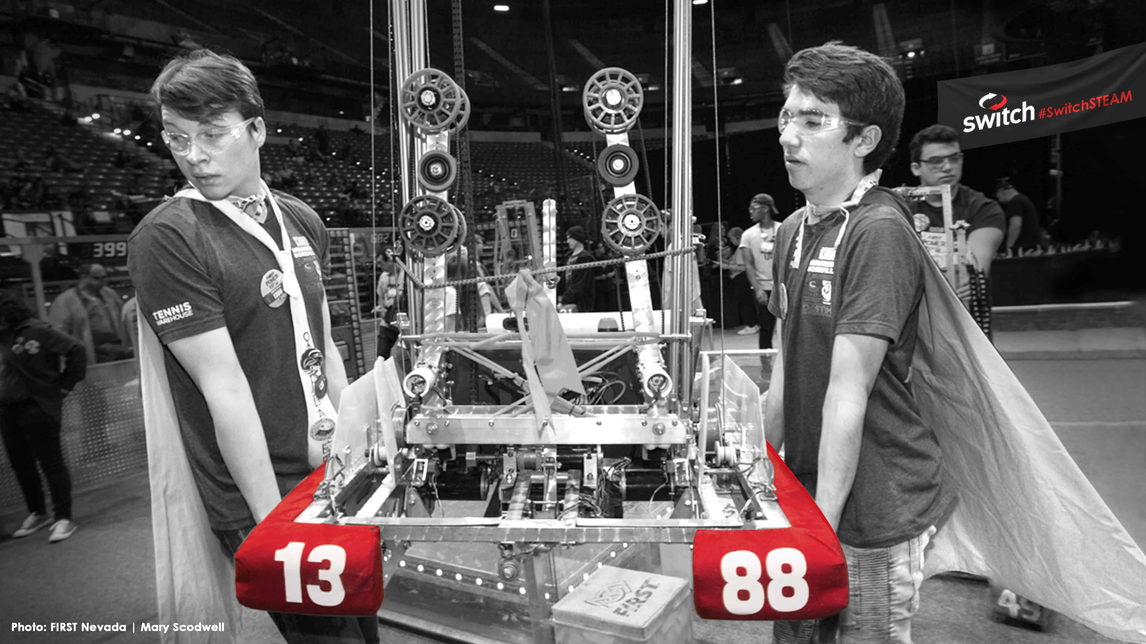Switch Returns as the Lead Sponsor of the 2019 FIRST<sup>®</sup> Robotics Competition – Las Vegas Regional for the Third Consecutive Year